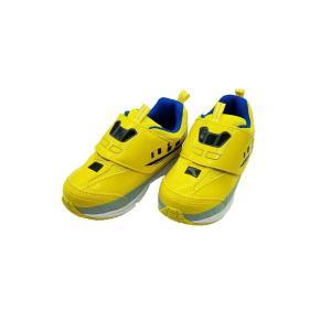 【送料無料・沖縄・一部離島は除く】プラレール スニーカー (靴) ドクターイエロー  同梱可能 電車型の運動靴・スリッポンタイプ|toy-time