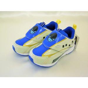 【送料無料・沖縄・一部離島は除く】【同梱可能】プラレール スニーカー (靴) E7系 新幹線かがやき(北陸新幹線) 【マジックテープ式】|toy-time