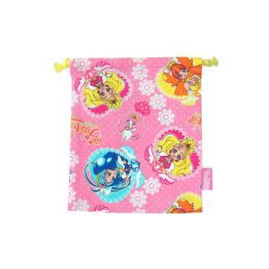 【メール便OK!】【特価30%OFF!】 GO!プリンセスプリキュア 巾着S|toy-time