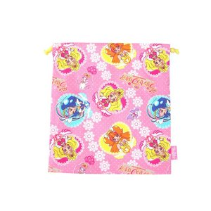 【メール便OK!】【特価30%OFF!】 GO!プリンセスプリキュア 巾着M|toy-time