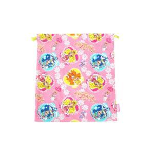 【メール便OK!】【特価30%OFF!】 GO!プリンセスプリキュア 巾着L|toy-time
