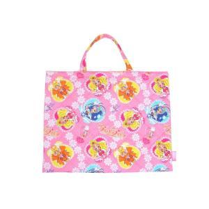 【メール便OK!】【特価30%OFF!】 GO!プリンセスプリキュア  キルト レッスンバッグ(通園バッグ)|toy-time