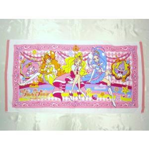 【メール便OK!】【特価15%OFF!】 GO!プリンセスプリキュア バスタオル|toy-time
