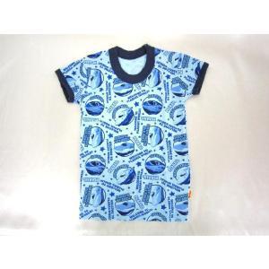 【メール便OK!】 プラレール (E5系はやぶさ×N700系みずほ・さくら) 半袖丸首シャツ(厚地・単品) toy-time