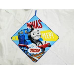 【メール便OK!】機関車トーマス (ブルートレイン) ループ付きハンドタオル|toy-time