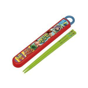 【特価30%OFF!】ディズニー トイストーリー 食洗機対応 スライド式箸&箸箱セット|toy-time