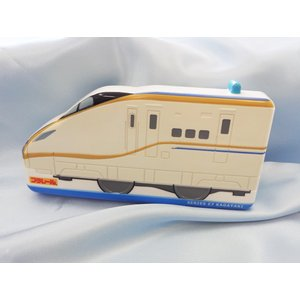【特価37%OFF】プラレール(E7系かがやき)新幹線 ダイカットランチボックス|toy-time