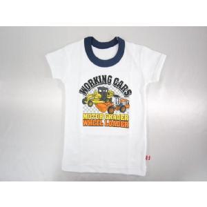 【メール便OK!】 トミカ (チェッカー柄) 半袖丸首シャツ(単品) ★やや厚地★ toy-time