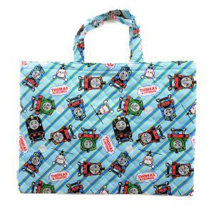 【メール便OK!】機関車トーマス (トーマスフレンズ) キルトレッスンバッグ(通園バッグ)|toy-time