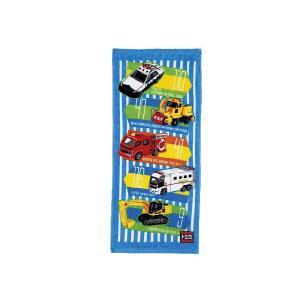 【メール便OK!】 トミカ (ウォーキングロード) フェイスタオル|toy-time