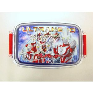 【特価25%OFF!】ウルトラヒーロー(ギンガ入り柄) お弁当箱(500ml) toy-time