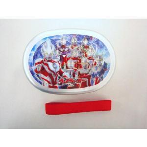 【特価25%OFF!】ウルトラヒーロー(ギンガ入り柄) アルミお弁当箱(ランチベルト付き) toy-time