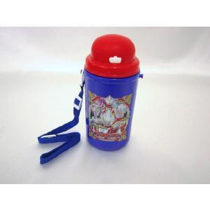 【特価25%OFF!】ウルトラヒーロー(ギンガ入り柄) ストロー付水筒(保冷タイプ) toy-time