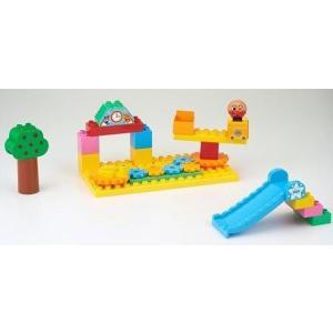 ブロックラボ アンパンマンのくるくる公園ブロックセット|toy-toy-shop|02