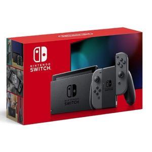 Nintendo Switch本体 グレー 【バッテリー持続時間が長くなった新モデル】正規品