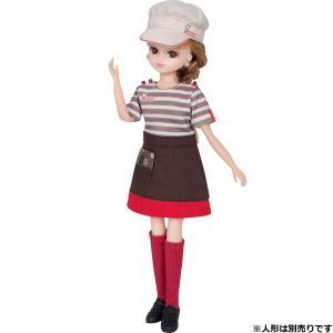 ミスタードーナツショップの店員さんドレスセットです。 お店に合わせて制服もリニューアルしました。  ...