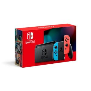 新モデル送料込 Nintendo Switch本体 Joy-Con(L)ネオンブルー/(R)ネオンレ...