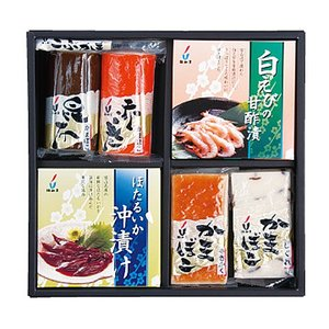 ギフト 梅かま 味つづり 蜃気楼セット 富山名産品 かまぼこ 蒲鉾 詰合せ 送料別 冷蔵