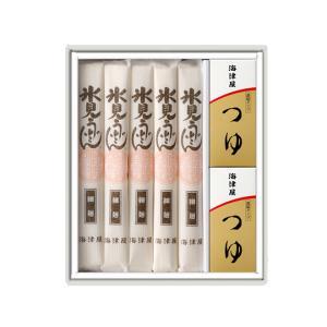 ギフト 氷見・海津屋 氷見うどんセット(細麺5本つゆ付) 富山名産品 乾物 送料別