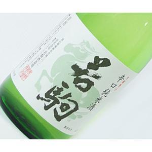 税別価格:1,200円 内容量:純米酒720ml テイスト:辛口 アルコール度数:15〜16度 原材...