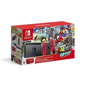 Nintendo Switch スーパーマリオ オデッセイセット 17時までの注文で当日発送!!|toybox1