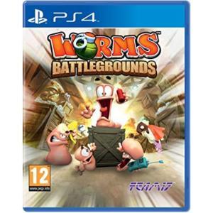 【取り寄せ】Worms Battlegrounds /PS4 輸入版