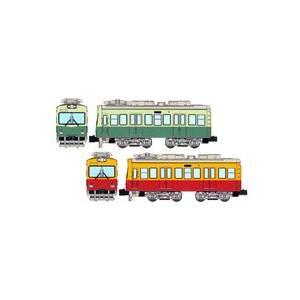 Bトレインショーティー  京阪電車600形 標準色+特急色 (先頭車 2両入り)  鉄道模型 Nゲージ 私鉄 大津線  【バンダイ】|toylandclover|02