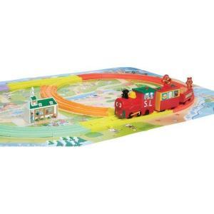 アンパンマンタウン SLマンと虹のレールウェイセット 知育玩具 ベビー向けおもちゃ 女の子プレゼント 男の子プレゼント バンダイ|toylandclover