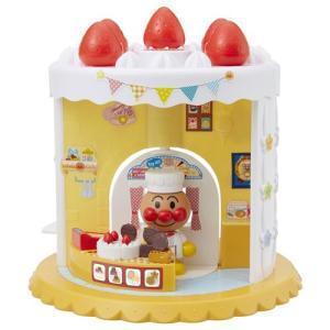 アンパンマンタウン ようこそ!わくわく!アンパンマンスイーツショップ 知育玩具 女の子プレゼント 男の子プレゼント クリスマスプレゼント バンダイ|toylandclover