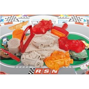 ぎゅっ! とかたまる suna suna カーズセット 男の子プレゼント 誕生日プレゼント クリスマスプレゼント ディズニー 砂場 サンド 屋内 室内遊び バンダイ|toylandclover