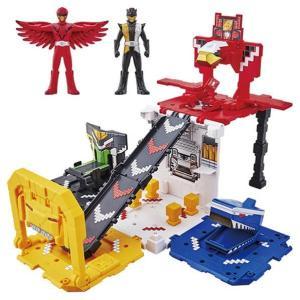 動物戦隊ジュウオウジャー 巨大変形基地 DXジューランドベース 変形合体ロボット ヒーロー戦隊 男の子 プレゼント 誕生日 プレゼント バンダイ 数量限定特価|toylandclover