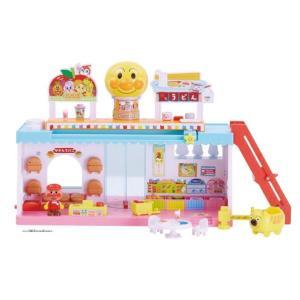 アンパンマンタウン ようこそ!おおきな!アンパンマンショッピングモール 知育玩具 女の子プレゼント 男の子プレゼント クリスマスプレゼント バンダイ|toylandclover