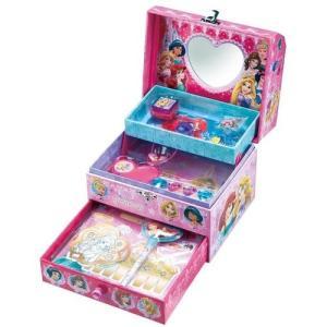 ひみつのラブリーボックス DC ディズニープリンセス ディズニー ジュエリーボックス サンスター文具 女の子 プレゼント 誕生日 プレゼント toylandclover 02