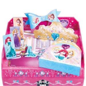 ひみつのラブリーボックス DC ディズニープリンセス ディズニー ジュエリーボックス サンスター文具 女の子 プレゼント 誕生日 プレゼント toylandclover 04