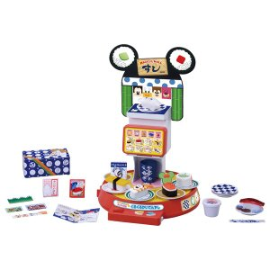 ディズニー マジカルマート 英語と日本語! タッチで注文★くるくるかいてんずし 知育玩具 ままごと ごっこ遊び ディズニーおもちゃ タカラトミー|toylandclover