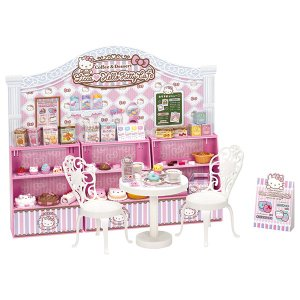 リカちゃん ハローキティ スイーツカフェ きせかえ人形 女の子 プレゼント 誕生日 プレゼント タカラトミー|toylandclover