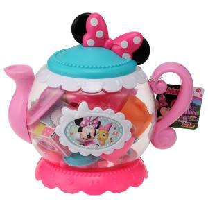 ディズニー ミニーのハッピー・ヘルパー ミニーマウス ティーポットセット ミニーマウス ままごと 誕生日プレゼント 女の子プレゼント タカラトミー|toylandclover