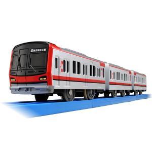 プラレール ぼくもだいすき! たのしい列車シリーズ 東武鉄道 70000系 電車のおもちゃ 3歳 4歳 5歳 男の子プレゼント 鉄道玩具 タカラトミー|toylandclover