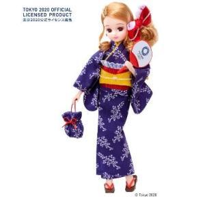 リカちゃん 浴衣 東京2020 オリンピックエンブレム 女の子プレゼント 誕生日 プレゼント クリスマスプレゼント きせかえ人形 タカラトミー|toylandclover