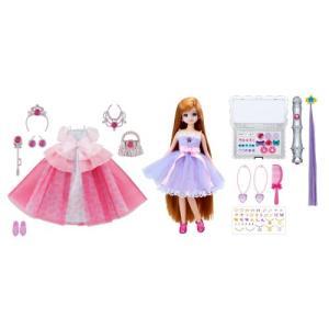 リカちゃん ドール ジュエルアップ かれんちゃん デラックス きせかえ 人形 女の子 プレゼント 誕生日 プレゼント きせかえ セット タカラトミー|toylandclover