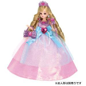 リカちゃん ドール ゆめみるお姫さま プレミアムドレスセット デラックス きせかえ 人形 女の子 プレゼント 誕生日 プレゼント きせかえ セット タカラトミー|toylandclover