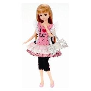 リカちゃん ドレス LW-08 コーディネートセット アイラブリカ 女の子 プレゼント 誕生日 プレゼント きせかえドレス タカラトミー|toylandclover