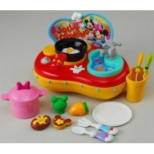 ディズニー トゥーンタウン おりょうりポップン♪キッチン ミッキーマウス ミニーマウス ポップンキッチン クリスマスプレゼント タカラトミー|toylandclover