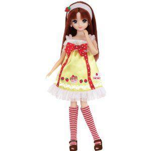 リカちゃん スウィーツデコラドレスセット ストロベリーケーキ 【タカラトミー】|toylandclover