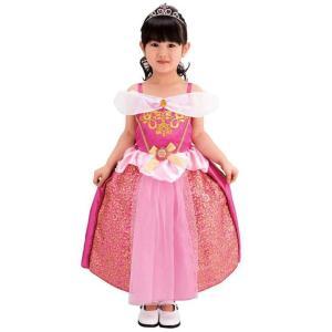 ディズニープリンセス ふわりんドレス オーロラ 女の子 100cm-110cm クリスマスコスプレ コスチューム 仮装 イベント タカラトミー|toylandclover