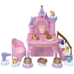 リカちゃん まほうのペットキャッスル 着せ替え人形用建物 おうち お部屋 女の子 プレゼント クリスマス プレゼント タカラトミー|toylandclover