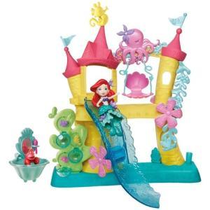 ディズニー プリンセス リトルキングダム アリエルの海のお城 プリンセスドール 人形 女の子 プレゼント 誕生日 プレゼント タカラトミー|toylandclover