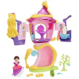 ディズニー プリンセス リトルキングダム ラプンツェルの塔の上のサロン プリンセスドール 人形 女の子 プレゼント 誕生日 プレゼント タカラトミー|toylandclover