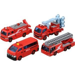 トミカ トミカギフトセット 消防車両 コレクション2 トミカ ミニカー 車 おもちゃ タカラトミー|toylandclover