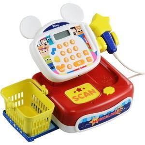 ディズニー マジカルマート 英語と日本語! スキャンでおしゃべり☆ ドリームレジスター 知育玩具 おつかい おかいもの 女の子プレゼント 【タカラトミー】|toylandclover
